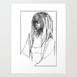 Women No. 01 Art Print