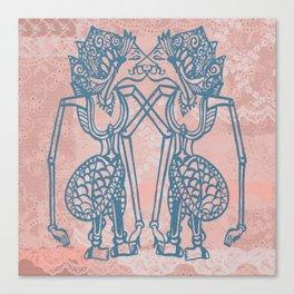 Wayang lovers Canvas Print