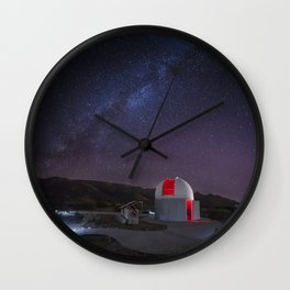 'Sky's The Limit' Observatory Wall Clock