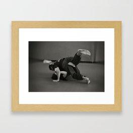 Jiu Jitsu Framed Art Print