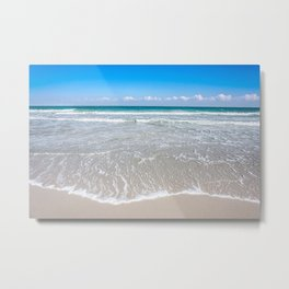 Paradise is the Beach Metal Print