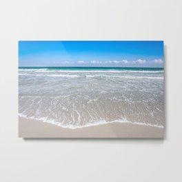 Paradise is the Beach Metal Print