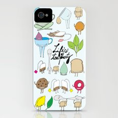 Life's a tea party Slim Case iPhone (4, 4s)