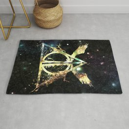 The golden wings Rug