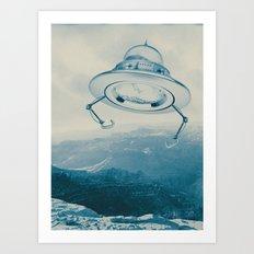UFO III Art Print