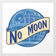 No Moon Brewery Art Print