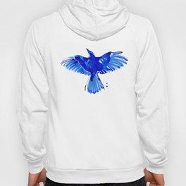 Blue bird wings Hoody