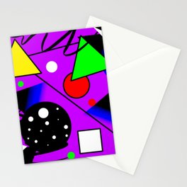 Geometric shapes,abstract art,graphic design tshirt Stationery Cards