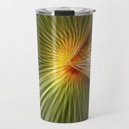 Palm leaf zoom Travel Mug