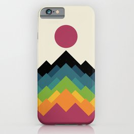 Life Is A Mountain iPhone Case
