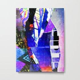 Blissful Purple Metal Print