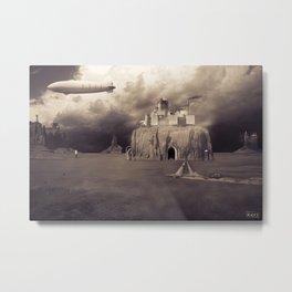 Monument Fortress Metal Print