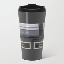 NES 8-Bit Console Metal Travel Mug