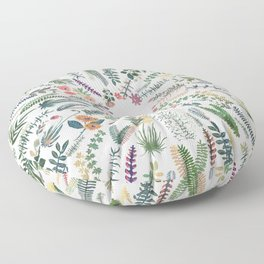 focus garden Floor Pillow