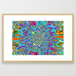 Splat! Framed Art Print