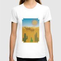 desert T-shirts featuring Desert by Loop in the mind