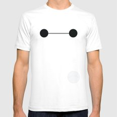 Baymax White SMALL Mens Fitted Tee