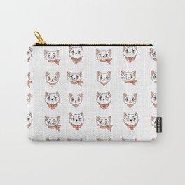 Peach precious kittycats Carry-All Pouch