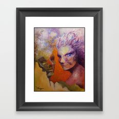 Effect of love Framed Art Print