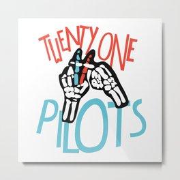 twenty one pillots Metal Print