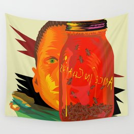 Alice in Chains - Jar of Flies  (Rock Album Cover) Wall Tapestry