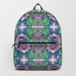 Green and Blue Trees Backpack