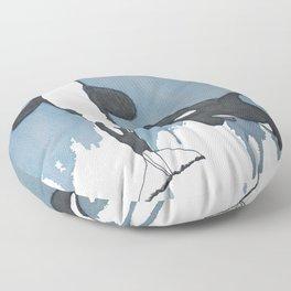 Orca Moon Floor Pillow