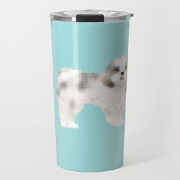 shih tzu funny farting dog breed pure breed pet gifts Travel Mug
