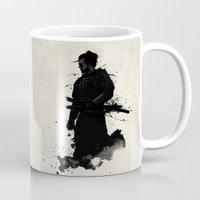 samurai Mugs featuring Samurai by Nicklas Gustafsson