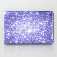 lavender iPad Cases featuring Lavender Periwinkle Sparkle Stars by WhimsyRomance&Fun