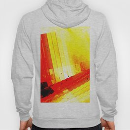 don't go out, the world is burning Hoody