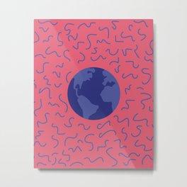 Pink world Metal Print