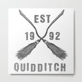 Varsity Quidditch Metal Print