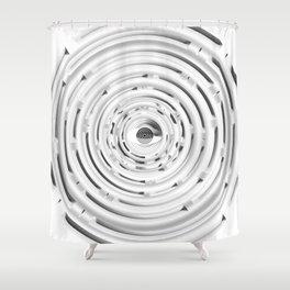 GS Geometric Abstrac 03AfxI S6 Shower Curtain