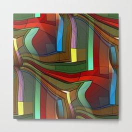 colormix -2- Metal Print