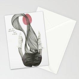 con el corazón tan suave como yo Stationery Cards