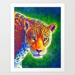 Light in the Rainforest Art Print