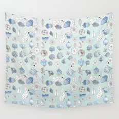 Azul Wall Tapestry