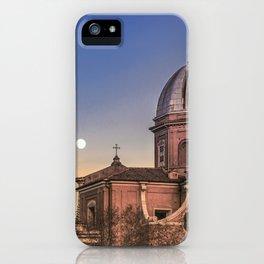 San Giovanni Battista dei Fiorentini Church, Rome, Italy iPhone Case