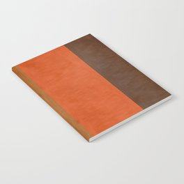 Shades of Brown Notebook
