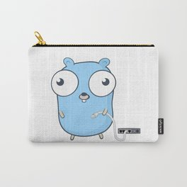Golang - gopher wizard Carry-All Pouch