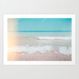 Beach Daze01 Art Print