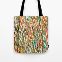 hippy Tote Bags featuring Hippy Style by thinschi