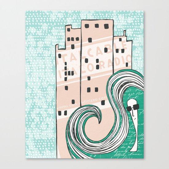 City Chic Canvas Print