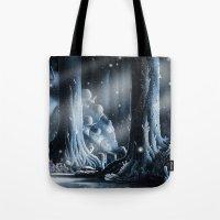 nausicaa Tote Bags featuring Nausicaa by Roberto Nieto