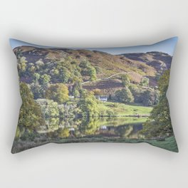 Loughrigg Tarn. Rectangular Pillow