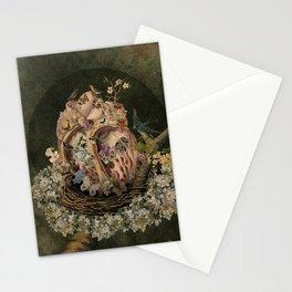 Anatomía en Primavera Stationery Cards