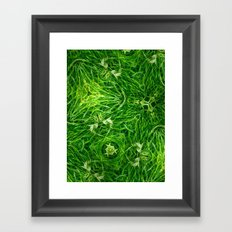 The Mystery Of The Grass Framed Art Print
