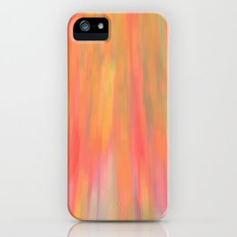 Color Fall iPhone Case