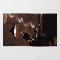 bar Area & Throw Rugs featuring Noir Bar by David Miley